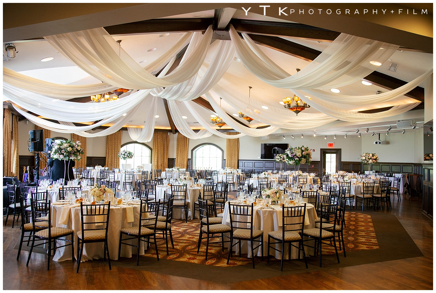 The Room At Saratoga National Looked Beautiful With All D